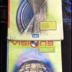 Livres de math 3eme secondaire : Vision